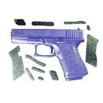RUBBER DECAL GRIPS FOR GLOCK 19 / 23 / 32