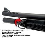 GG&G REMINGTON 870 FRONT QD SLING ATTACHMENT WITH HD QD SLING SWIVEL