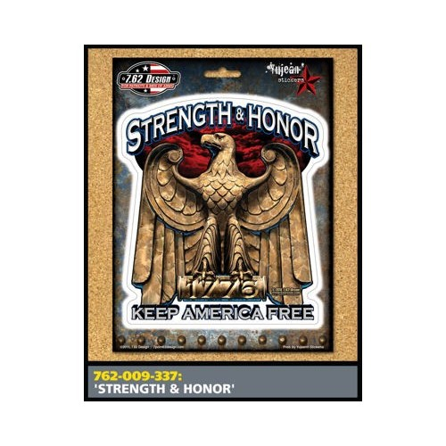 STRENGTH & HONOR STICKER
