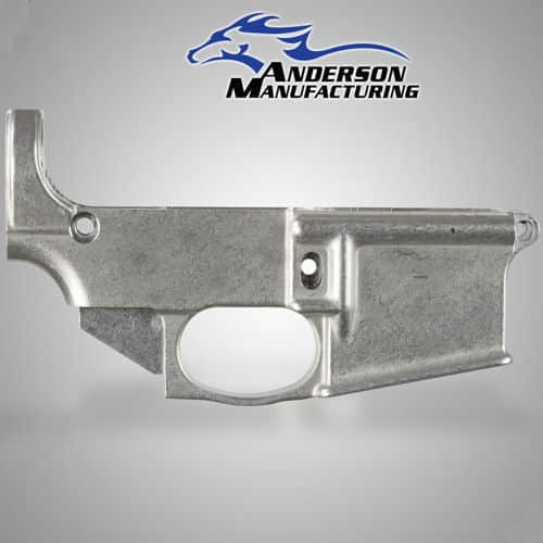 ANDERSON RIFLES 80% MACHINED LOWER - CLOSED TRIGGER WELL
