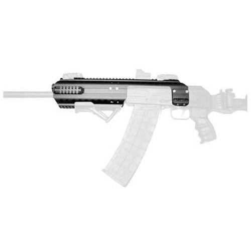 Wholesale Car Parts >> Black Aces Tactical Saiga 12 Tactical Rail Chassis