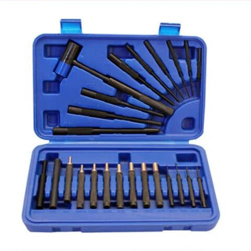 GUNMASTER 24 PIECE DRIVE PIN AND ROLL PUNCH SET