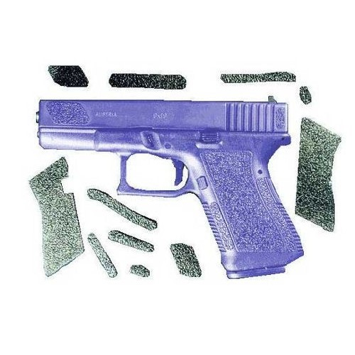 RUBBER DECAL GRIPS FOR GLOCK 29 / 30