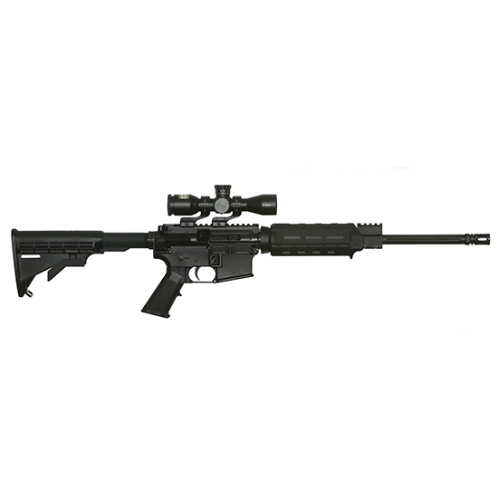 APF Econo 300blk 16 Nikon 3x Scope