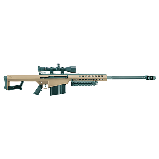 Barrett 82A1 50bmg 29 W Leu Mark4 Case Bipod