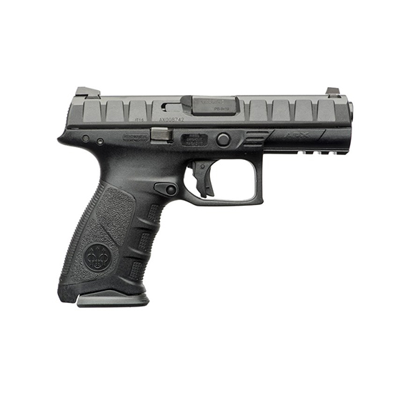 Beretta Apx 9mm 4.25 Blk Poly 3 Dot Sights 17rd