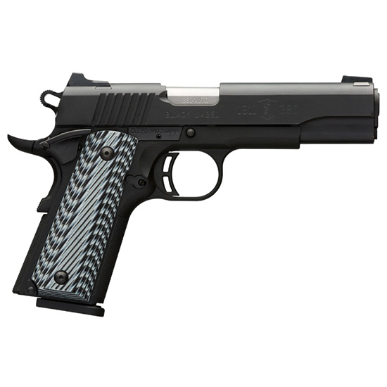 Browning 1911-380 380acp Blk Label G10 FS 3-dot