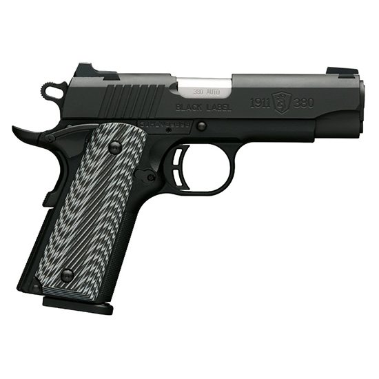Browning 1911-380 380acp Blk Label Pro Comp