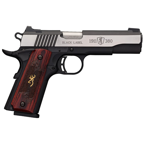 Browning 1911-380 380acp Blk Label Medallion Pro