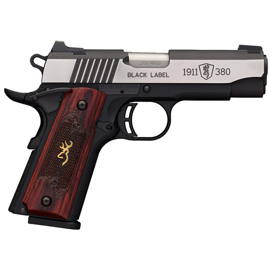Browning 1911-380 380acp Blk Label Medallion Pro Comp
