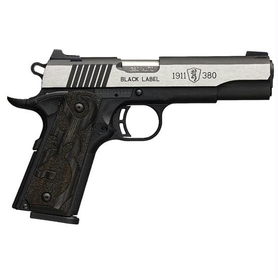 Browning 1911 380acp Black Label Medallion Pro Ns 2