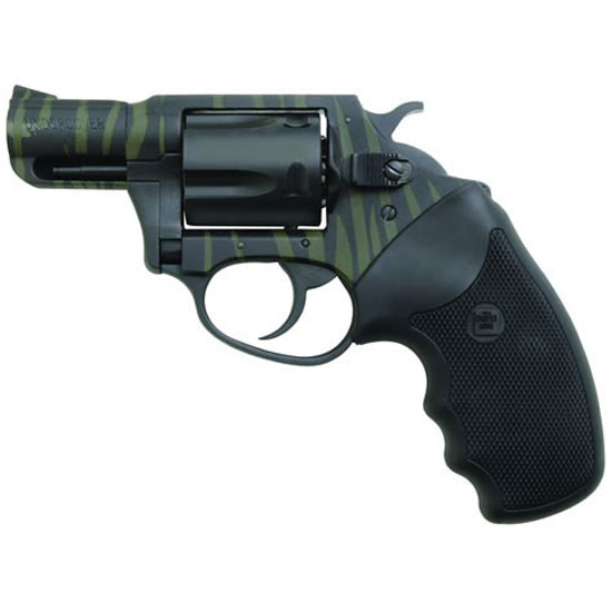 Charter Arms Undercover 38spl 2 Tiger Green Black Stripe