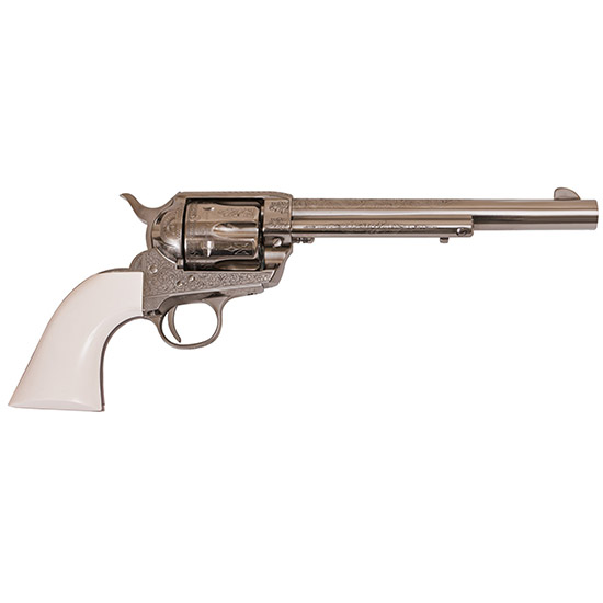 Cimarron Firearms Uberti Frontier 45lc 7.5 Nkl Laser Engrave