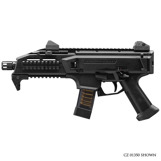 CZ USA Scorpion Evo 3 S1 9mm 1/2x28 Thrd 10rd