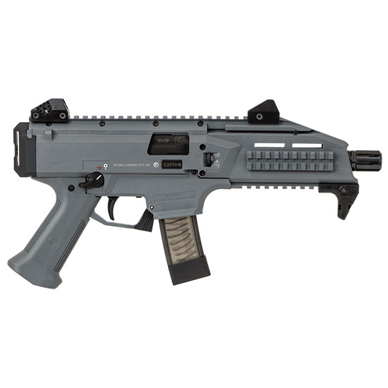 CZ USA Scorpion Evo 3 S1 9mm 1/2x28 Battle Gry 10rd