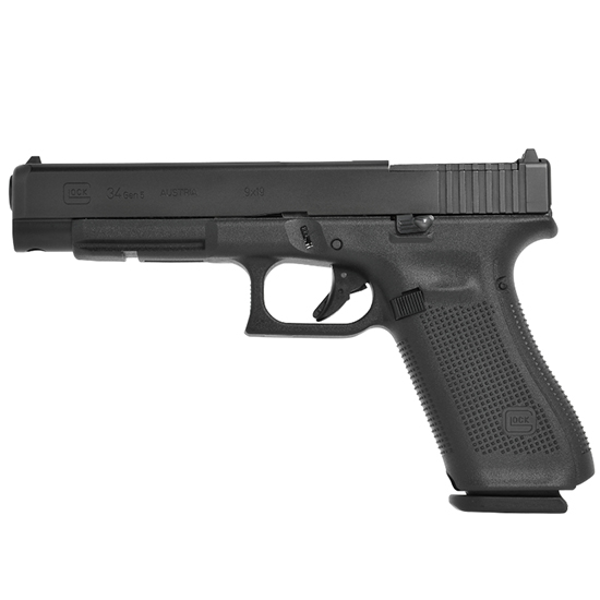 Glock 34 Gen5 9mm 5.31 AS 10rd