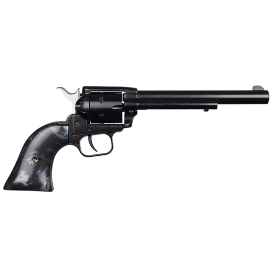 Heritage Rough Rider 22lr 6.5 Blk Pearl Grips