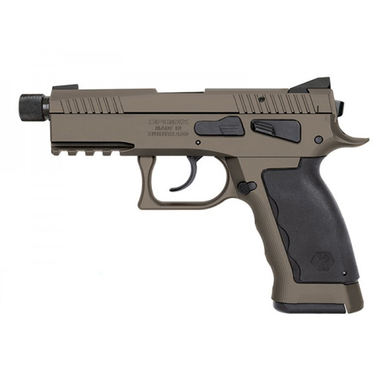 Kriss Sphinx Sdp 9mm Thrd Comp Sand Duty 17rd