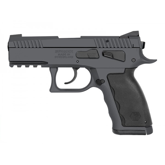 Kriss Sphinx Sdp 9mm Comp Gry Dasa 15rd