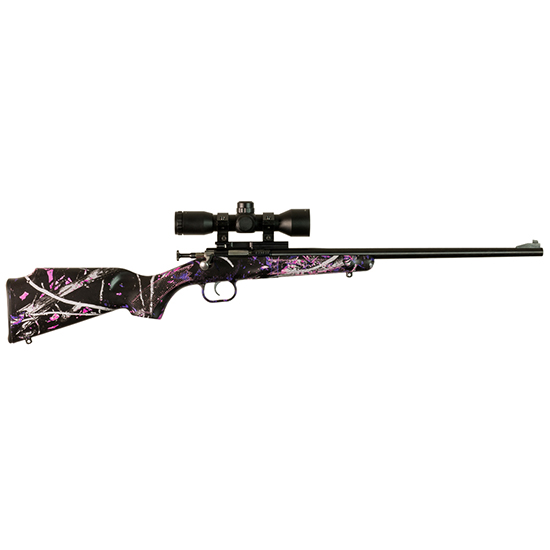 KSA Muddy Girl Blue Pkg W/scope & Mount 22lr