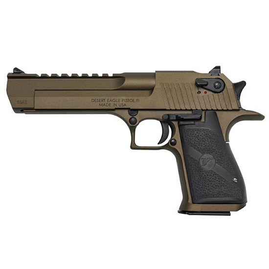 Magnum Research Desert Eagle 44mag 6 Burnt Bronze Blk Appt