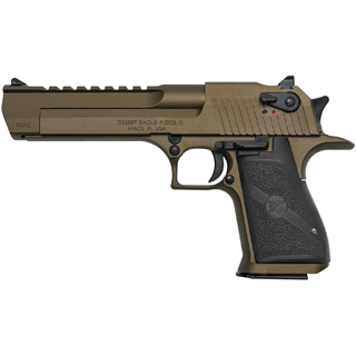 Magnum Research Desert Eagle 50ae 6 Burnt Bronze Blk Appt