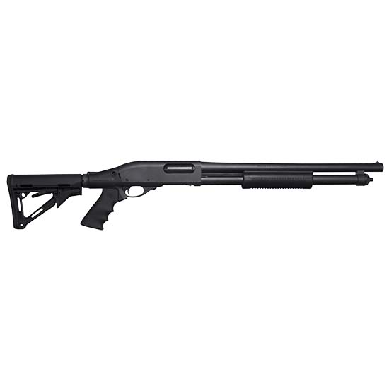 Remington 870 12ga 18.5 Cyl 6rd Magpul Ctr Stk Black