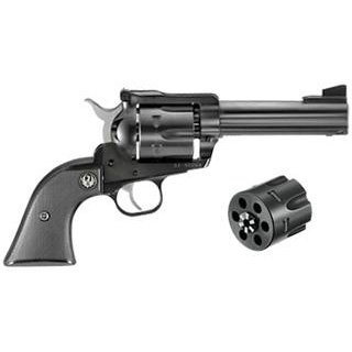 Ruger Blackhawk 357mag/9mm 4.5 Convertible Blued