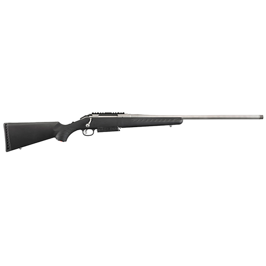 Ruger American 300win 24 Ss Thrd Blk Syn W/ Rail