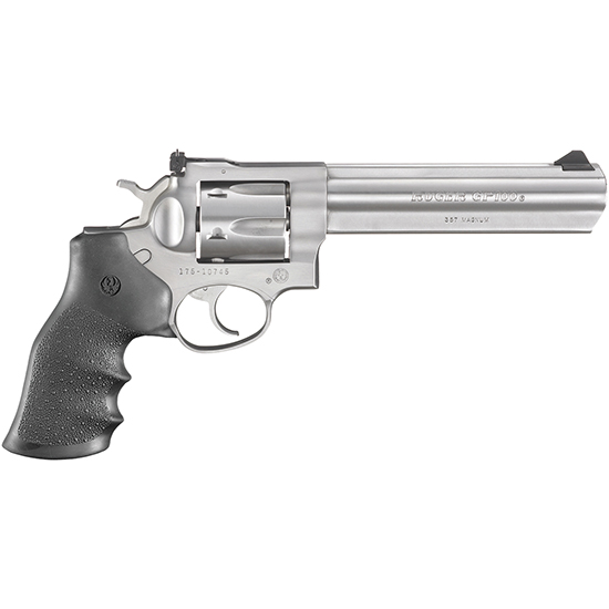 Ruger GP100 357mag 6 Ss As Hogue Monogrip 6rd