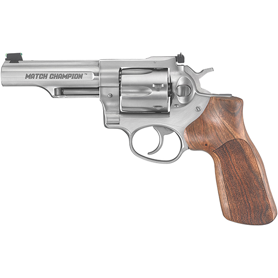 Ruger Gp100 Match Champion 357mag 4.2 As Wood Grip