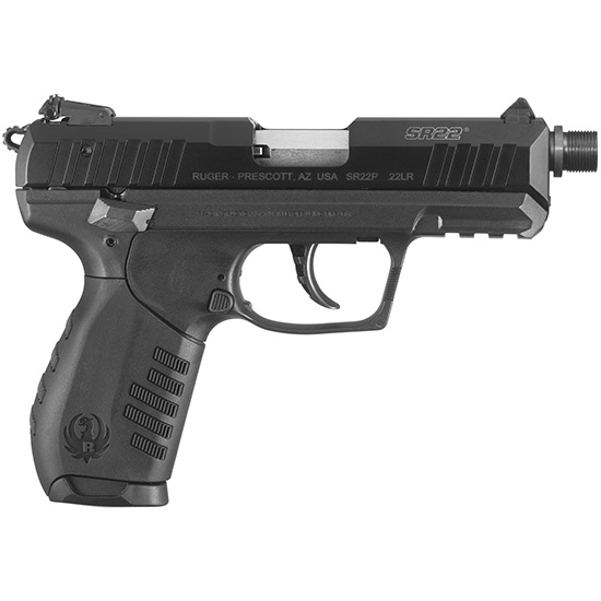 Ruger SR22pbt 22lr 3.5 Blued Threaded Barrel