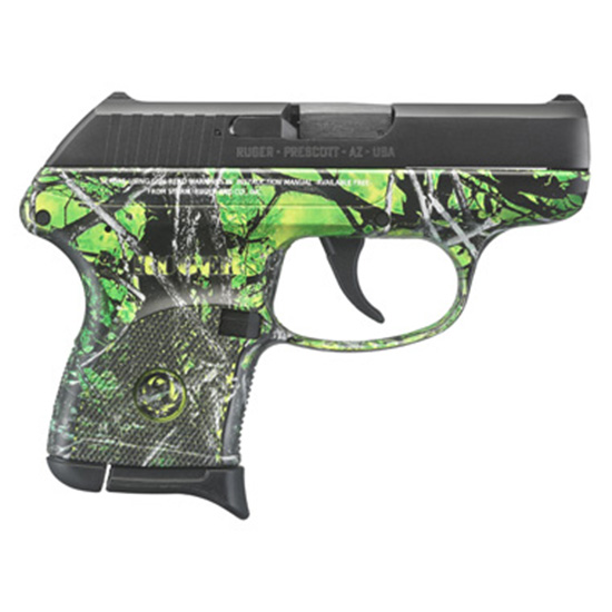 Ruger LCP 380acp Moonshine Camo Toxic Grn Pattern
