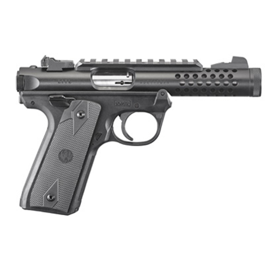 Ruger 22/45 Lite 22lr 4.4 Blk Anodized As 10rd
