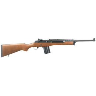 Ruger Mini-14 Ranch 223rem 18.5 Blue Hardwood 20rd