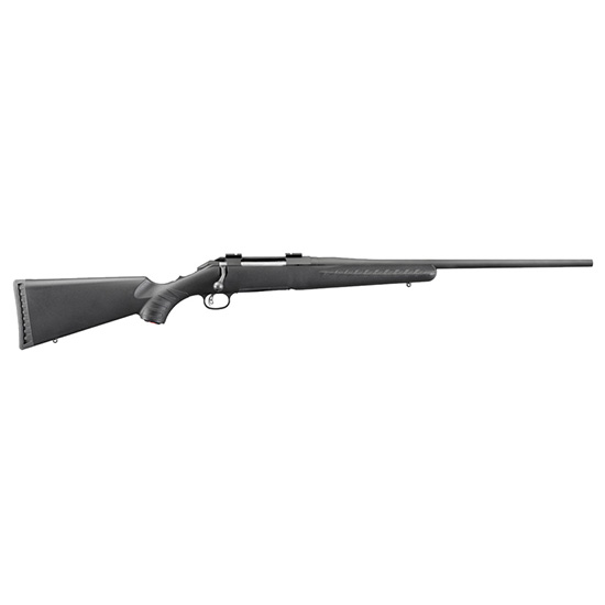 Ruger American 308win 22 Blk Syn 4rd