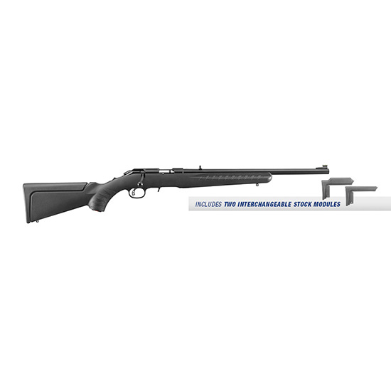 Ruger American 22mag 18 Compact Blk Syn 9rd