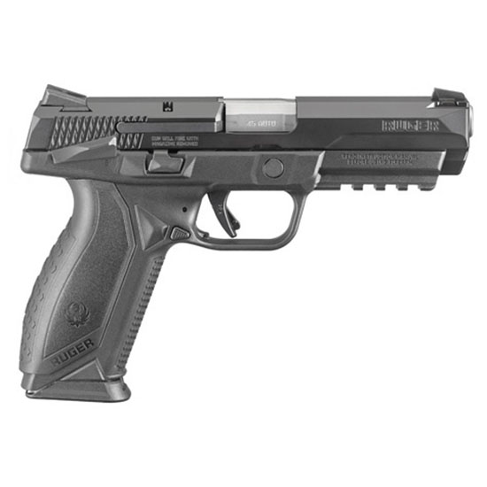Ruger American Pistol 4.5 45acp Blk Ss Msafety 10r