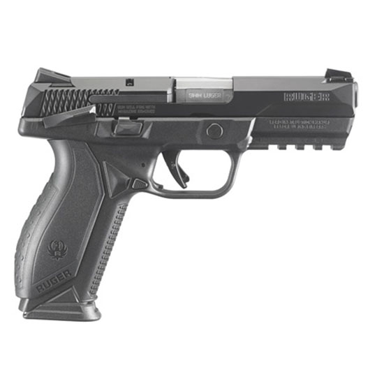 Ruger American Pistol 9mm 4.2 Blk Ss Msafety 10rd