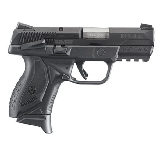 Ruger American Pistol Comp 9mm 3.55 Msafety 17rd