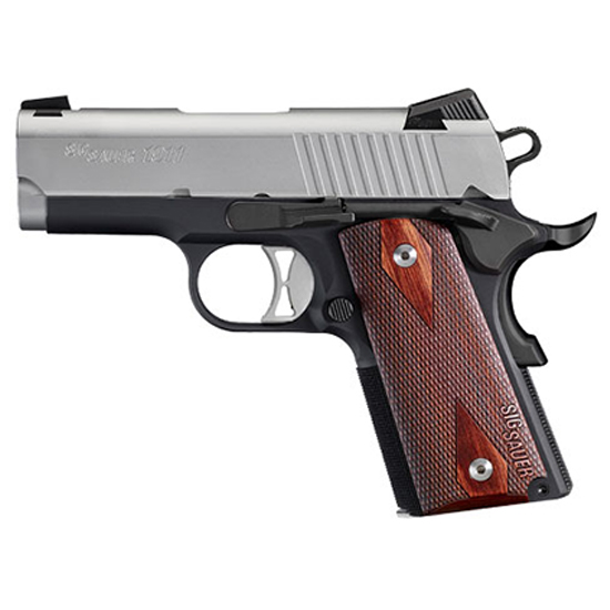 Sig Sauer 1911 Ultra Tradition 9mm 2 Tone Ns Blackwood