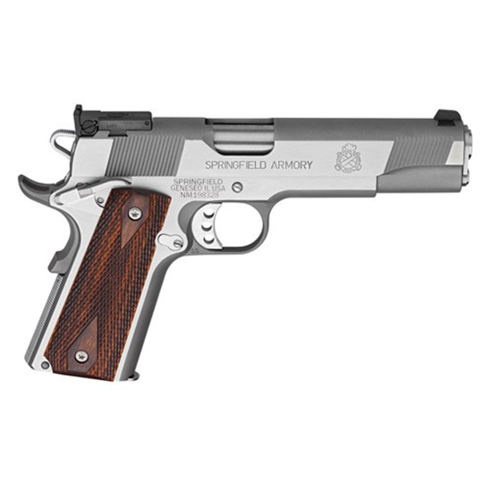 Springfield 1911 Target 45acp 5 SS AS Loaded Ca Legal