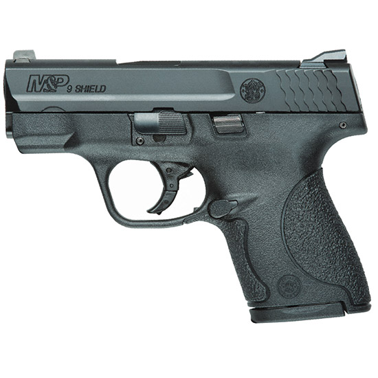 Smith & Wesson M&P Shield 9mm 3.1 Blk Poly 8rd Ma Legal
