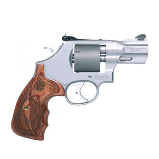 Smith & Wesson 986 9mm 2.5 Ss Sa/da Wood Grip As Matte Silve
