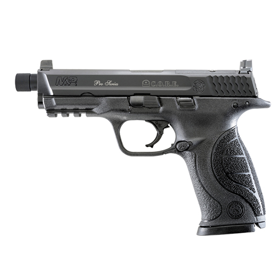 Smith & Wesson M&P9 9mm 4.3 Thrd Bbl Opt Ready Blued Blk