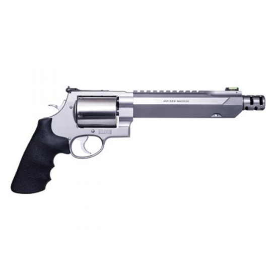 Smith & Wesson 460 460sw 7.5 Glass Bead Wood Grip Ss