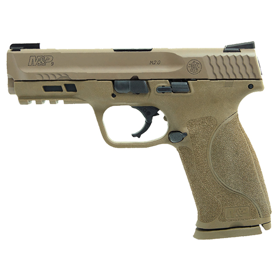 Smith & Wesson M&P9 M2.0 9mm Fde Nts Truglo Tfx (2) 17rd