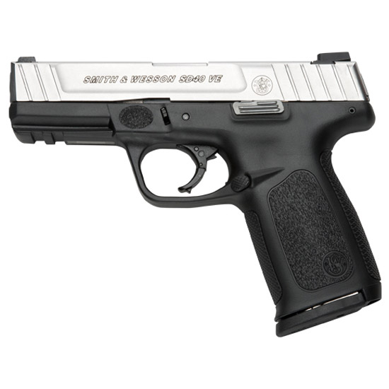 Smith & Wesson Sd40ve 40sw 4 Ss Blk Poly Fs 10rd Ma Legal