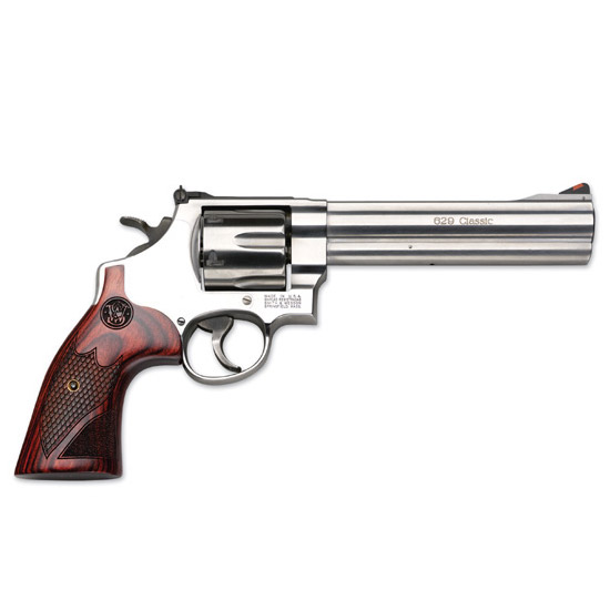 Smith & Wesson 629 Dlx 44mag 6.5 Ss Wood Grips