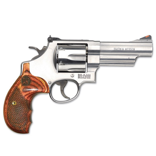Smith & Wesson 629 Dlx 44mag 3 As Ss Textured Brn Lamin